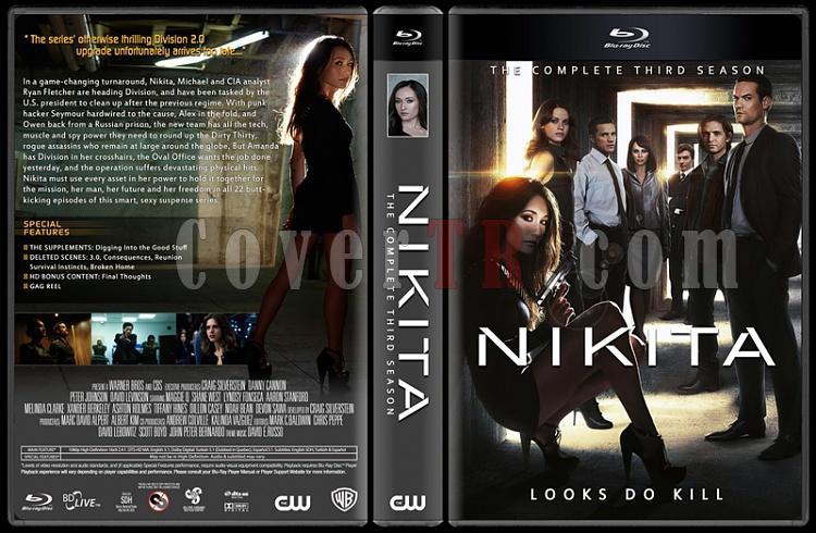 Nikita (Seasons 1-4) - Custom Dvd Cover Set - English [2010-2013]-thin6jpg