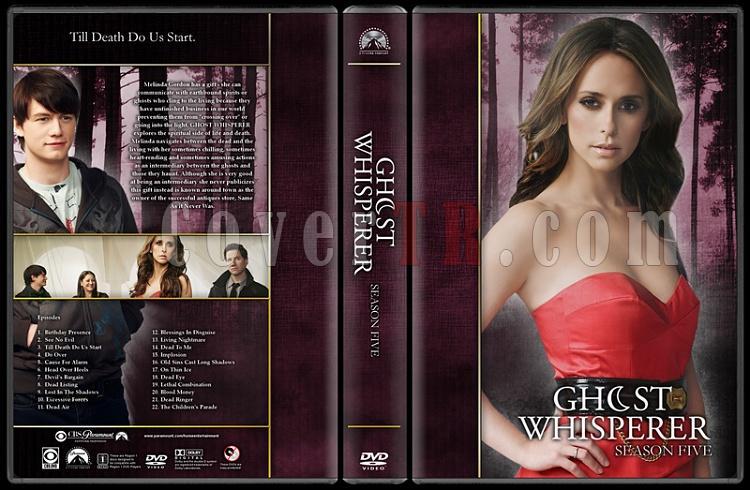 Ghost Whisperer (Seasons 1-5) - Custom Dvd Cover Set - English [2005-2010]-5jpg