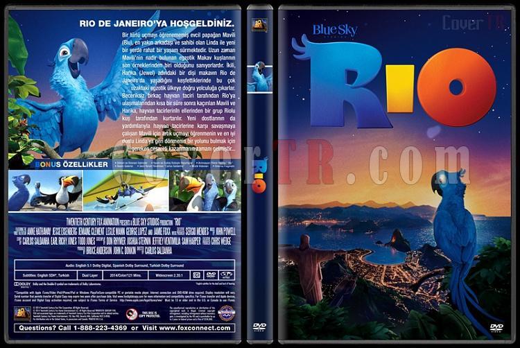 Rio - Custom Dvd Cover Set - Türkçe [2011-2014]-1jpg