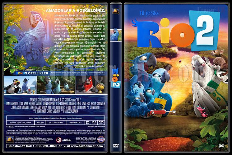 Rio - Custom Dvd Cover Set - Türkçe [2011-2014]-v1jpg