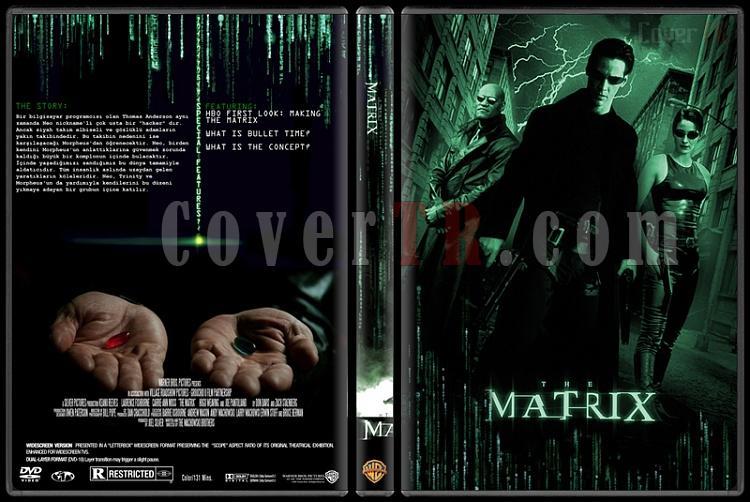 The Matrix Trilogy - Custom Dvd Cover Set - Türkçe Açıklamalı [1999-2003-2003]-1jpg