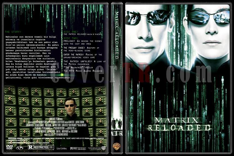 The Matrix Trilogy - Custom Dvd Cover Set - Türkçe Açıklamalı [1999-2003-2003]-2jpg