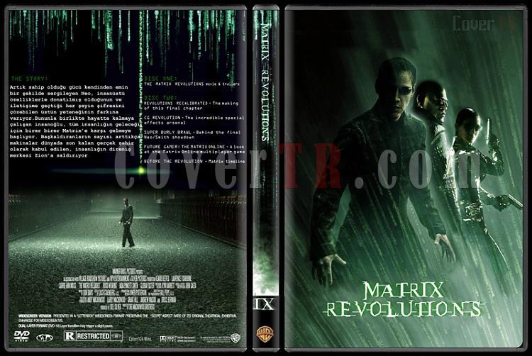 The Matrix Trilogy - Custom Dvd Cover Set - Türkçe Açıklamalı [1999-2003-2003]-3jpg