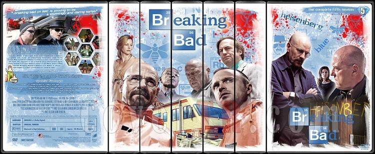 Breaking Bad (Seasons 1-5) - Custom Dvd Cover Set - English [2008-2013]-003jpg