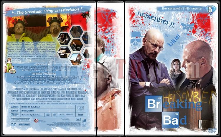 Breaking Bad (Seasons 1-5) - Custom Dvd Cover Set - English [2008-2013]-55jpg