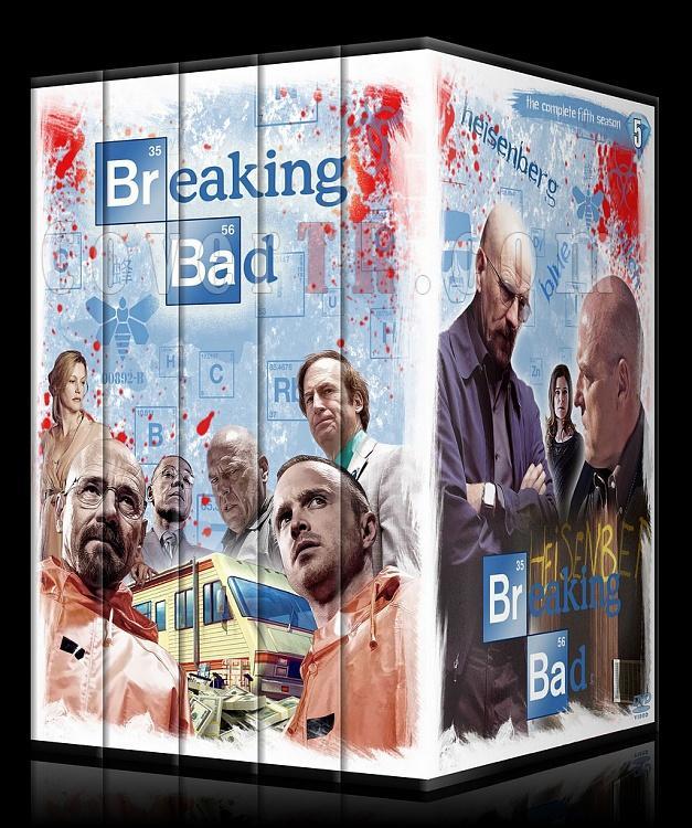 Breaking Bad (Seasons 1-5) - Custom Dvd Cover Set - English [2008-2013]-001jpg