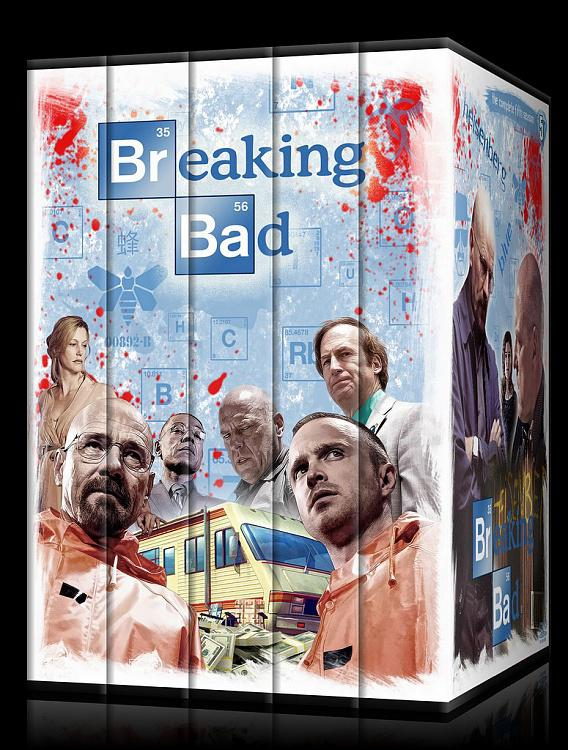 Breaking Bad (Seasons 1-5) - Custom Dvd Cover Set - English [2008-2013]-002jpg