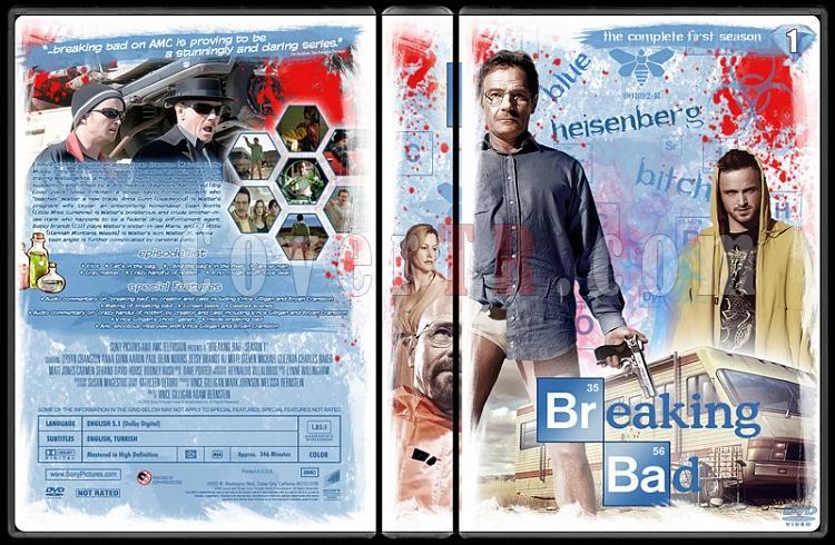 Breaking Bad (Seasons 1-5) - Custom Dvd Cover Set - English [2008-2013]-11jpg