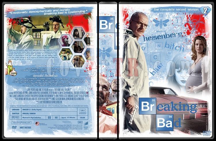 Breaking Bad (Seasons 1-5) - Custom Dvd Cover Set - English [2008-2013]-22jpg
