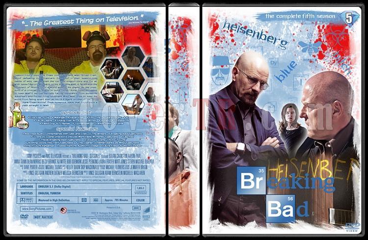 Breaking Bad (Seasons 1-5) - Custom Dvd Cover Set - English [2008-2013]-55jpg