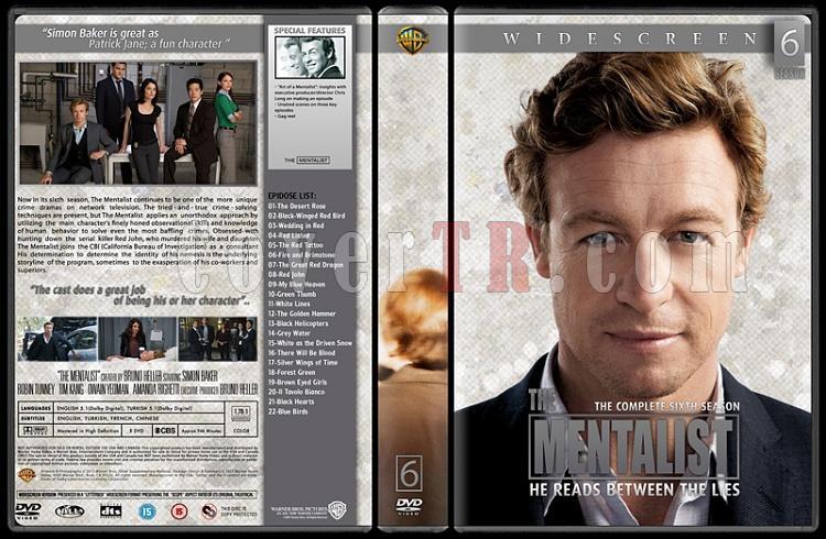 The Mentalist (Seasons 1-6) - Custom Dvd Cover Set - English [2008-2015]-thin6jpg