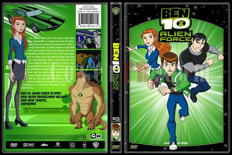 TV Cartoon Collection - Custom Dvd Cover Set - English-ben-10-alien-forcejpg