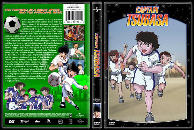 TV Cartoon Collection - Custom Dvd Cover Set - English-captain-tsubasajpg