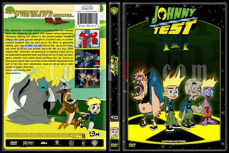 TV Cartoon Collection - Custom Dvd Cover Set - English-johnny-testjpg