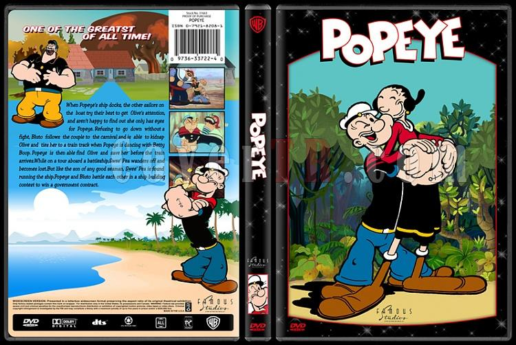 TV Cartoon Collection - Custom Dvd Cover Set - English-popeyejpg