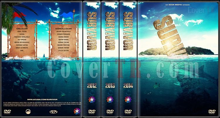 Survivor - Custom Dvd Cover Set - Türkçe [2012-2014]-all-previewjpg