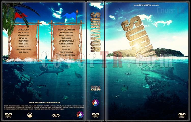 Survivor - Custom Dvd Cover Set - Türkçe [2012-2014]-3jpg