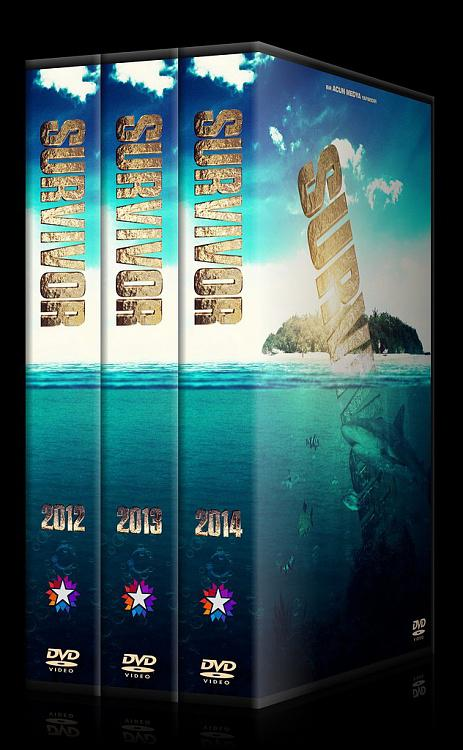 Survivor - Custom Dvd Cover Set - Türkçe [2012-2014]-ajpg