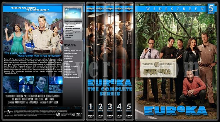 Eureka (Seasons 1-5) - Custom Dvd Cover Set - English [2006-2012]-standard-5-season-flatjpg
