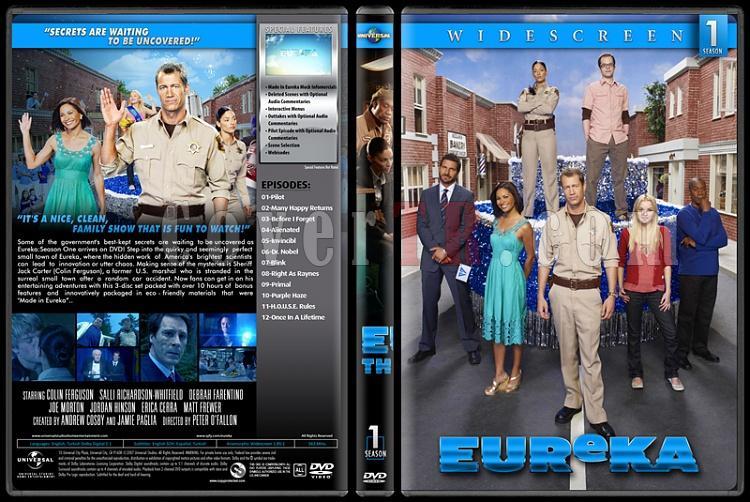 Eureka (Seasons 1-5) - Custom Dvd Cover Set - English [2006-2012]-1jpg