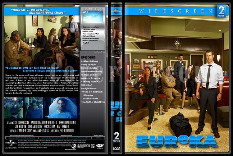Eureka (Seasons 1-5) - Custom Dvd Cover Set - English [2006-2012]-2jpg