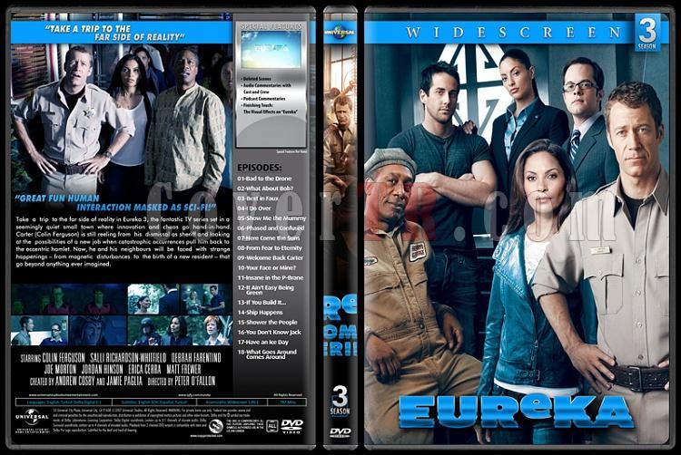 Eureka (Seasons 1-5) - Custom Dvd Cover Set - English [2006-2012]-3jpg