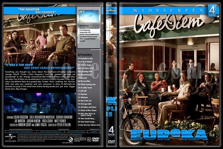 Eureka (Seasons 1-5) - Custom Dvd Cover Set - English [2006-2012]-4jpg
