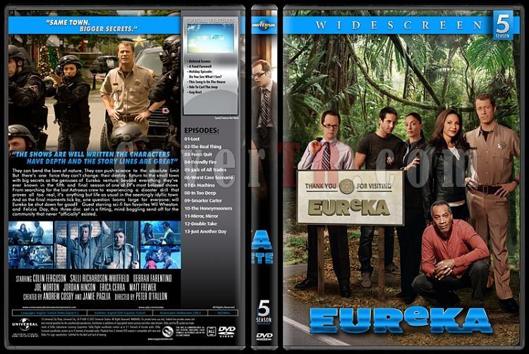 Eureka (Seasons 1-5) - Custom Dvd Cover Set - English [2006-2012]-5jpg
