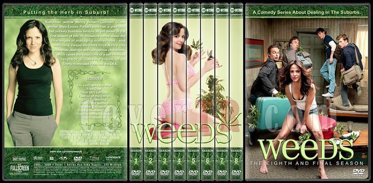 Weeds (Seasons 1-8) - Custom Dvd Cover Set - English [2005-2012]-standard-8-season-flatjpg