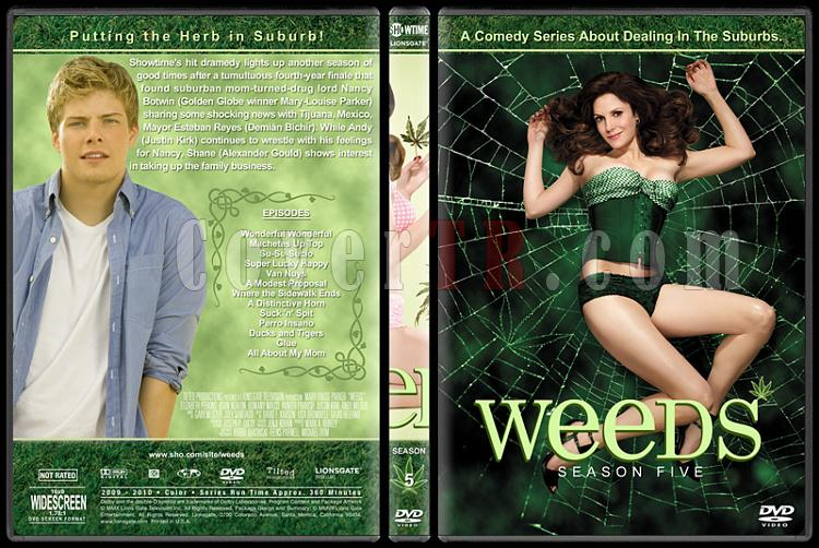 Weeds (Seasons 1-8) - Custom Dvd Cover Set - English [2005-2012]-5jpg