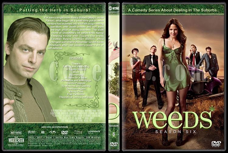 Weeds (Seasons 1-8) - Custom Dvd Cover Set - English [2005-2012]-6jpg