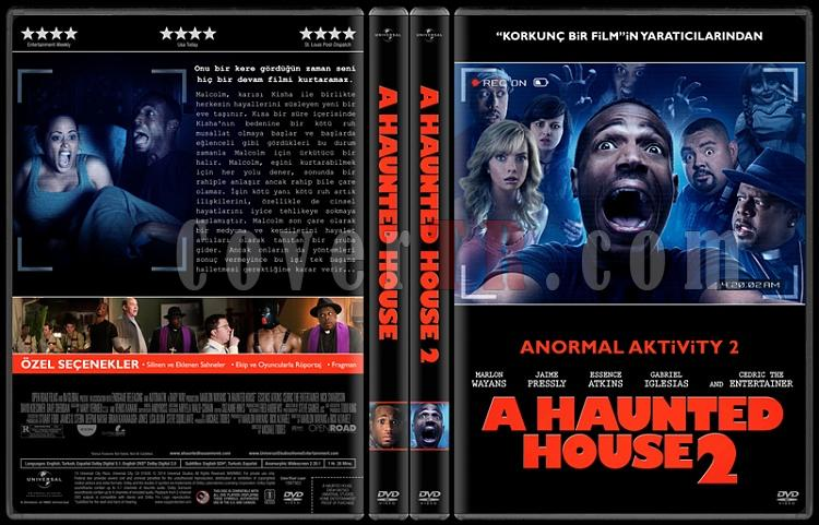 A Haunted House Collection (Anormal Aktivity Koleksiyonu) - Custom Dvd Cover Set - Türkçe [2013-2014]-hepsi-2jpg
