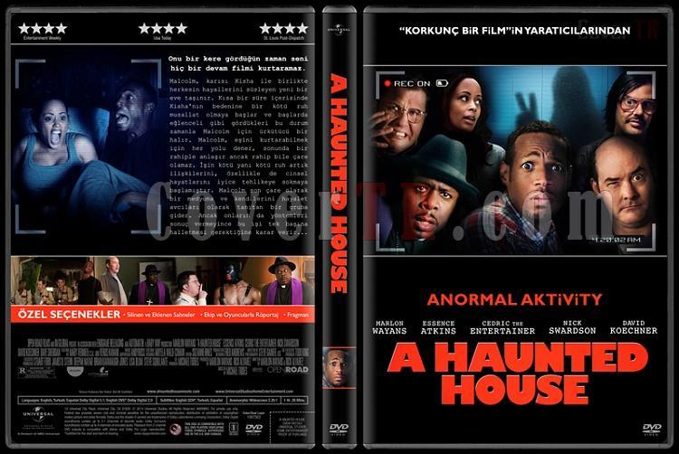A Haunted House Collection (Anormal Aktivity Koleksiyonu) - Custom Dvd Cover Set - Türkçe [2013-2014]-1jpg