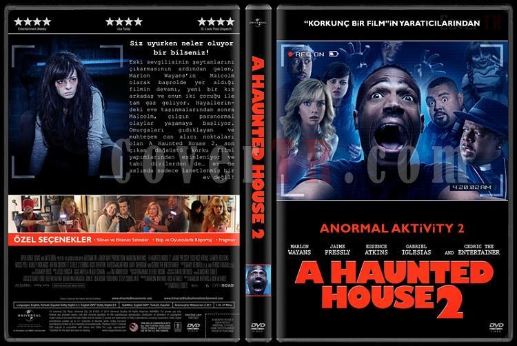 A Haunted House Collection (Anormal Aktivity Koleksiyonu) - Custom Dvd Cover Set - Türkçe [2013-2014]-2jpg