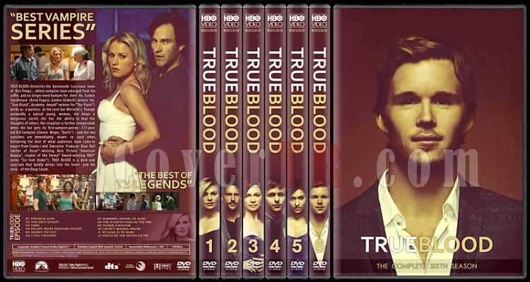 True Blood (Seasons 1-6) - Custom Dvd Cover Set - English [2008-2014]-standard-6-season-flatjpg