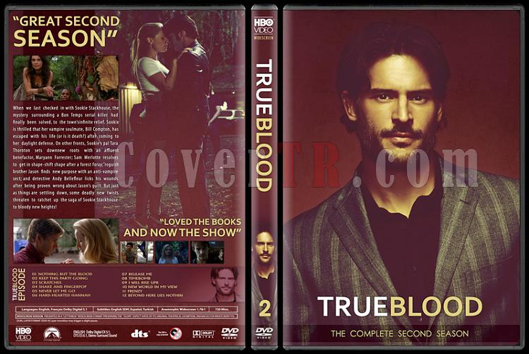 True Blood (Seasons 1-6) - Custom Dvd Cover Set - English [2008-2014]-2jpg
