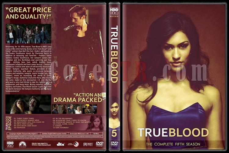 True Blood (Seasons 1-6) - Custom Dvd Cover Set - English [2008-2014]-5jpg