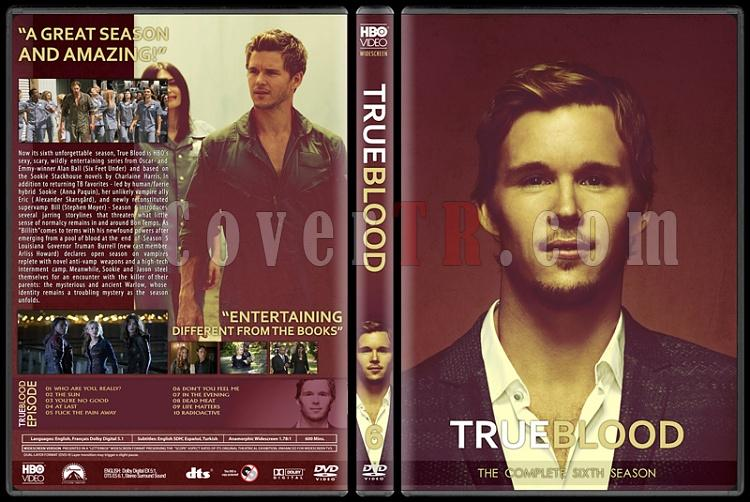 True Blood (Seasons 1-6) - Custom Dvd Cover Set - English [2008-2014]-6jpg