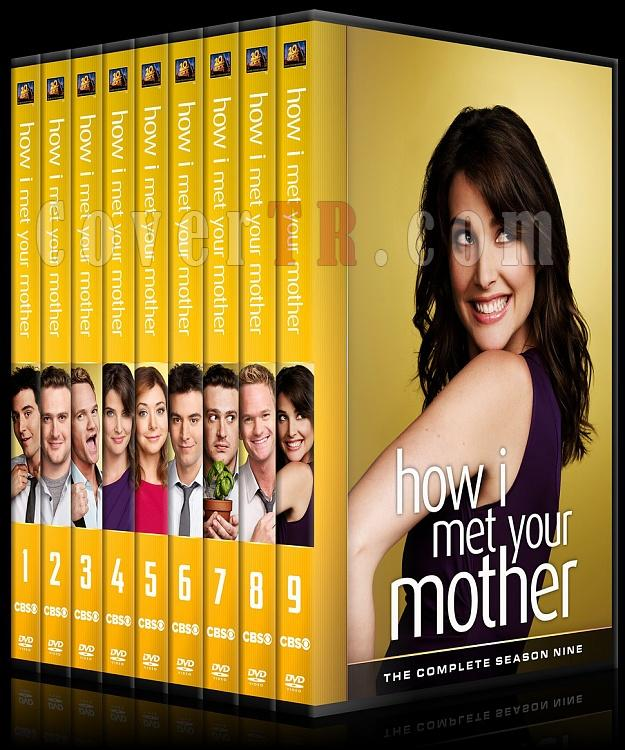 How I Met Your Mother (Seasons 1-9) - Custom Dvd Cover Set - English [2005-2014]-tum-onizlemeler-1jpg