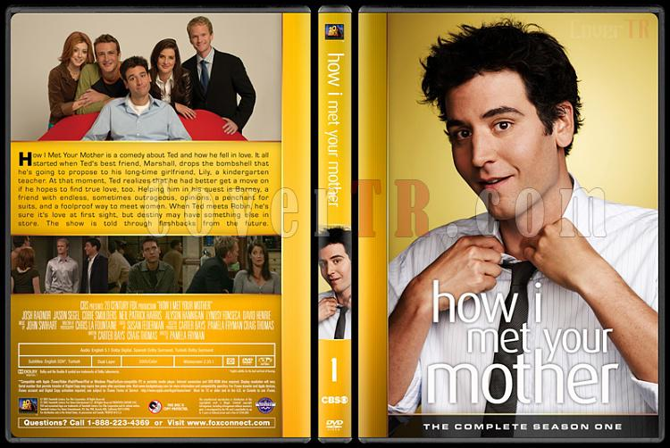 How I Met Your Mother (Seasons 1-9) - Custom Dvd Cover Set - English [2005-2014]-1jpg