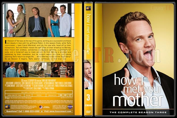 How I Met Your Mother (Seasons 1-9) - Custom Dvd Cover Set - English [2005-2014]-3jpg