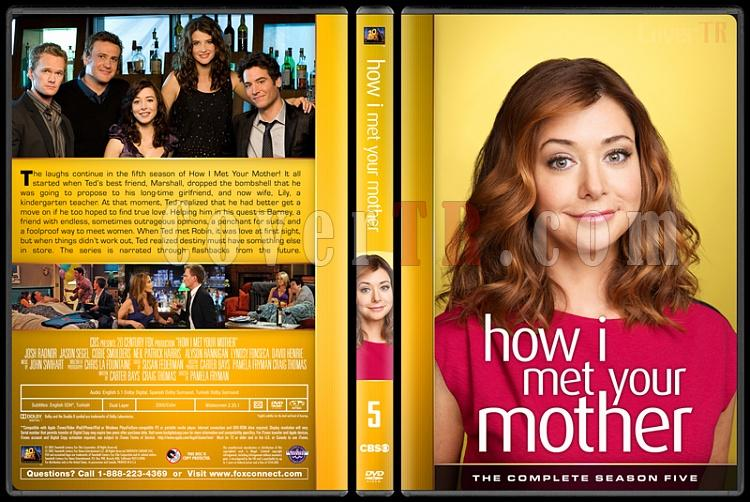 How I Met Your Mother (Seasons 1-9) - Custom Dvd Cover Set - English [2005-2014]-5jpg