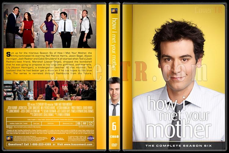 How I Met Your Mother (Seasons 1-9) - Custom Dvd Cover Set - English [2005-2014]-6jpg