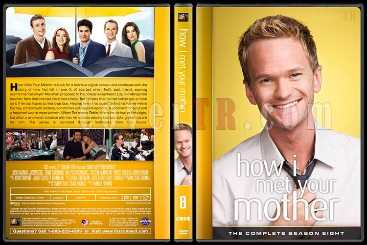 How I Met Your Mother (Seasons 1-9) - Custom Dvd Cover Set - English [2005-2014]-8jpg