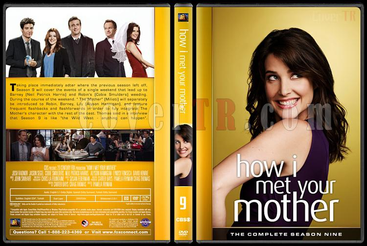 How I Met Your Mother (Seasons 1-9) - Custom Dvd Cover Set - English [2005-2014]-9jpg