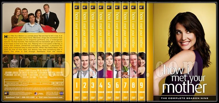 How I Met Your Mother (Seasons 1-9) - Custom Dvd Cover Set - English [2005-2014]-tum-onizlemer-2jpg