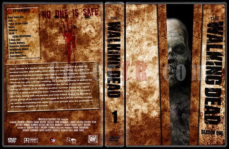 The Walking Dead (Seasons 1-2) - Custom Dvd Cover Set - English [2010-?]-1jpg