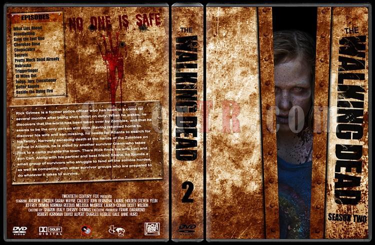 The Walking Dead (Seasons 1-2) - Custom Dvd Cover Set - English [2010-?]-2jpg