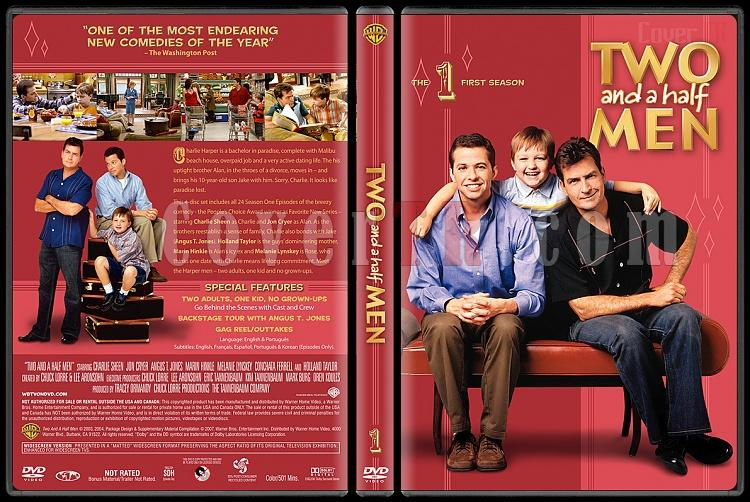 Two and a Half Men (Seasons 1-10) - Custom Dvd Cover Set - English [2003-?]-1jpg