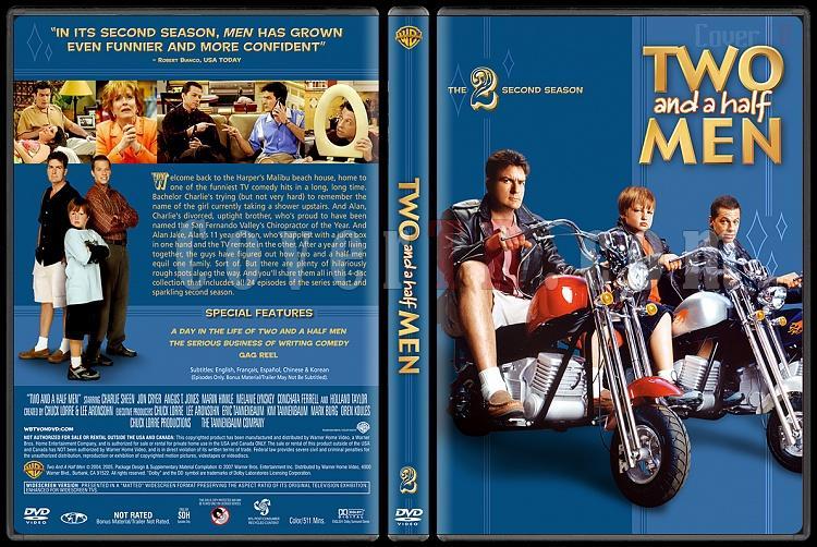 Two and a Half Men (Seasons 1-10) - Custom Dvd Cover Set - English [2003-?]-2jpg